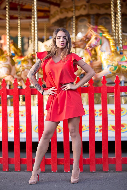 KiKi Fashion Co. Ruby Red Dress